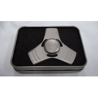 Hand Spinner Steel Bearing Silver