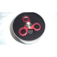 Hand Spinner Tri-Bar Red