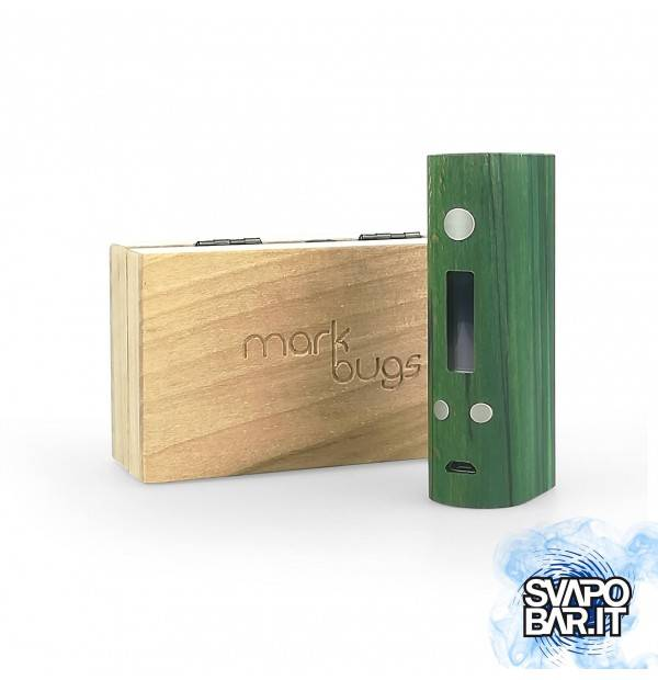 Mark Bugs- Amulet Wood Box