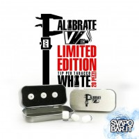 Calibrate white Limited Edition - Drip tip Tabaccosi