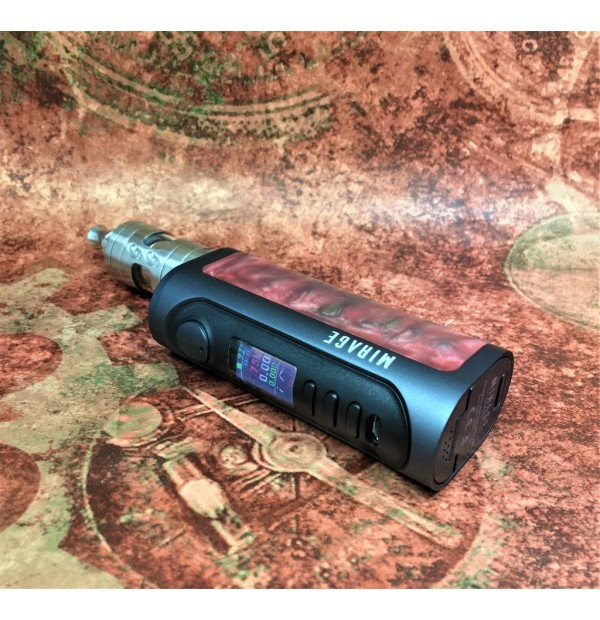 Lost Vape Mirage DNA75C Drak Grey Frame - Red Blaze