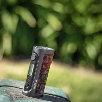 Lost Vape Mirage DNA75C Drak Grey Frame - Red Blaze