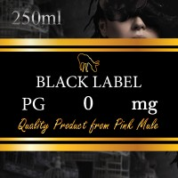 Black Label - Glicole Propilenico PG 250ml Pink Mule