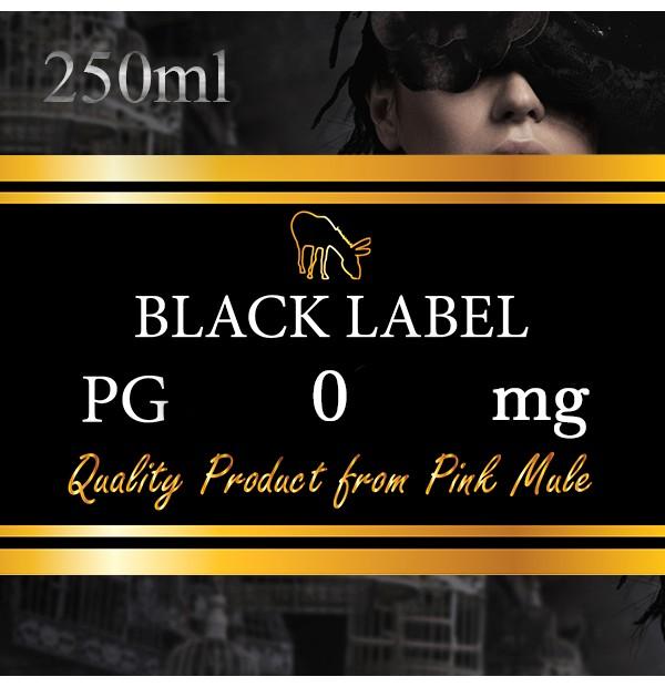 Black Label - Glicole Propilenico PG 250ml Pink Mule