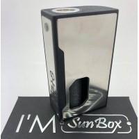 I'm - Sunbox - M718 acciaio e scritta in rilievo