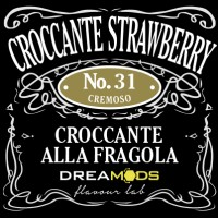 Dreamods - Croccante Strawberry No.31 Aroma Concentrato 10 ml