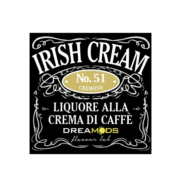 Dreamods - Irish Cream No.51 Aroma Concentrato 10 ml