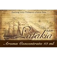 Latakia (raw) – Aroma di Tabacco concentrato 10 ml