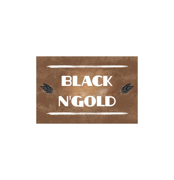 Black n' Gold – Synergy Vape concentrato 10 ml
