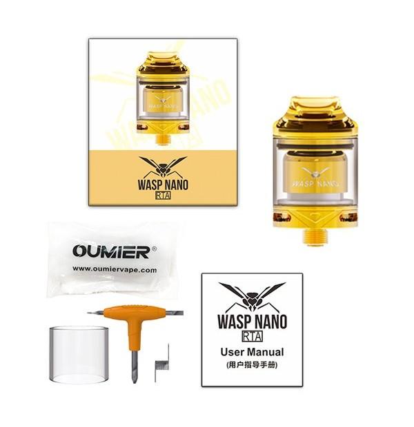 Wasp Nano RTA 2ml 23mm - Oumier