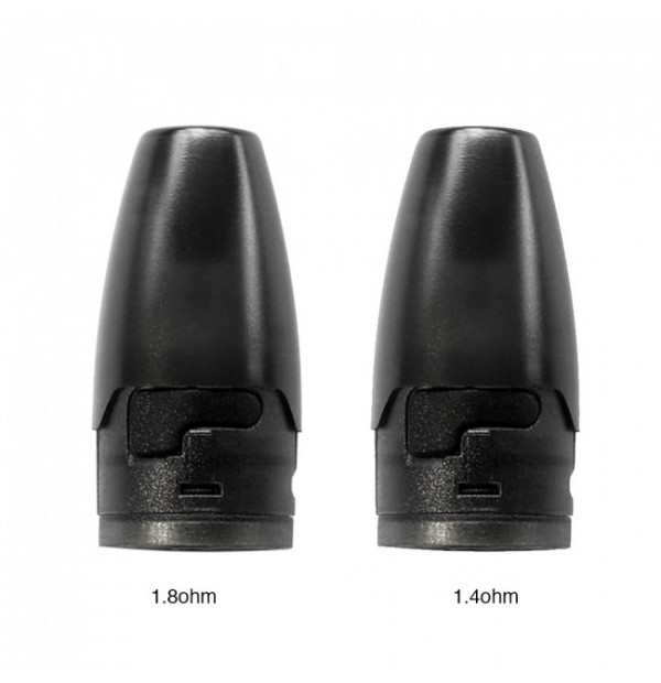 Hotcig - Kubi Refillable Pod Cartridge 1.7ml (x4)
