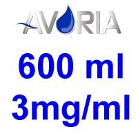 Pack Base Avoria 600ml 50/50 - 3mg/ml (100+100+10x10)