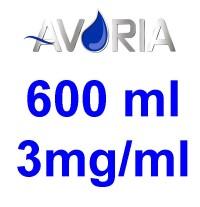 Pack Base Avoria Fusion 600ml 50/50 - 3mg/ml (250+250+10x10)