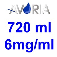 Pack Base Avoria Domina 720ml 50/50 - 6mg/ml (250+250+22x10)