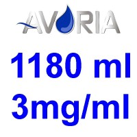Pack Base Avoria 1180ml 50/50 - 3mg/ml (500+500+18x10)