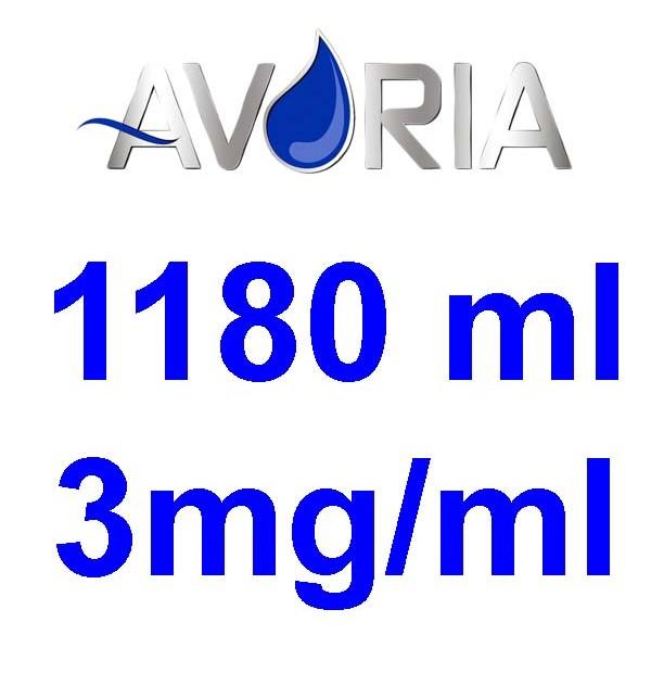Pack Base Avoria 1180ml 50/50 - 3mg/ml (500+500+18x10)