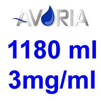 Pack Base Avoria Fusion 1180ml 50/50 - 3mg/ml (500+500+18x10)
