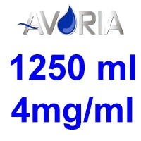 Pack Base Avoria Fusion 1250ml 50/50 - 4mg/ml (500+500+25x10)