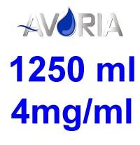 Pack Base Avoria Booster 1250ml 50/50 - 4mg/ml (500+500+25x10)