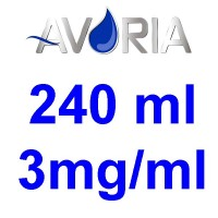 Pack Base Avoria Fusion 240ml 50/50 - 3mg/ml (100+100+4x10)