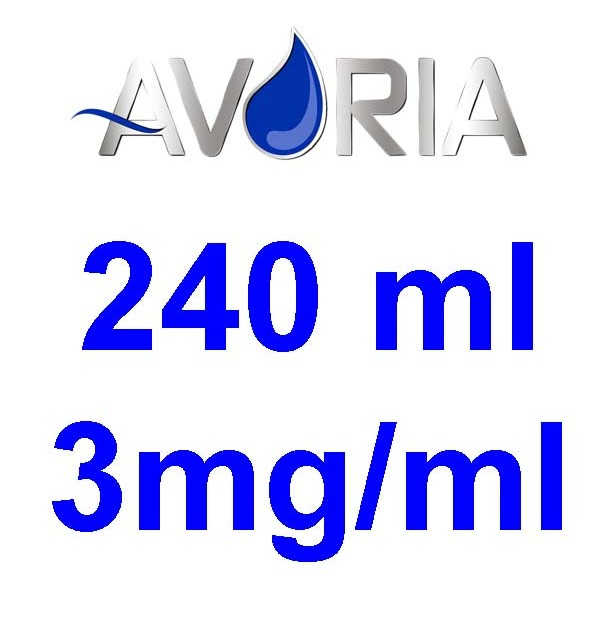 Pack Base Avoria 240ml 50/50 - 3mg/ml (100+100+4x10)