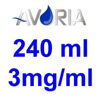 Pack Base Avoria Domina 240ml 50/50 - 3mg/ml (100+100+4x10)