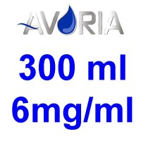 Pack Base Avoria 300ml 50/50 - 3mg/ml (100+100+4x10)