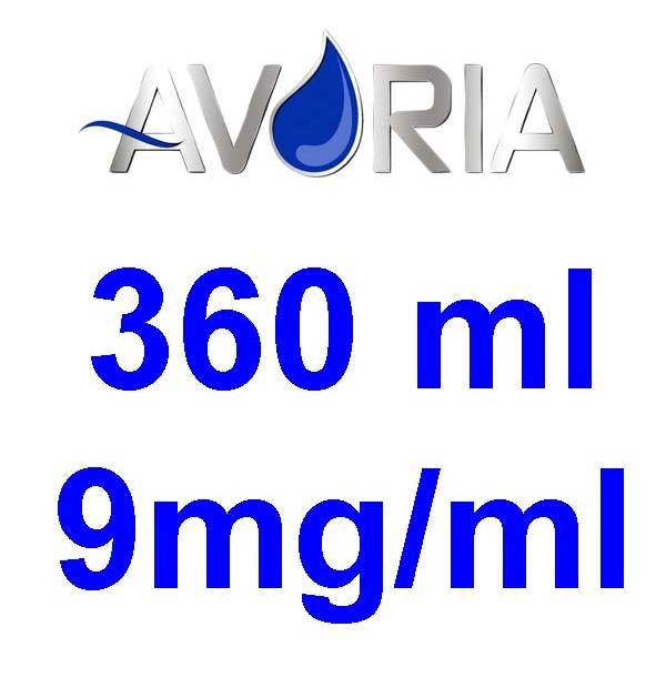 Pack Base Avoria Domina 360ml 50/50 - 9mg/ml (100+100+16x10)