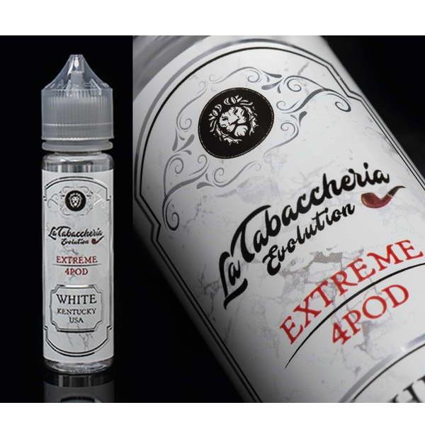 LA TABACCHERIA EXTREME 4POD WHITE KENTUCKY USA AROMA 20 ML
