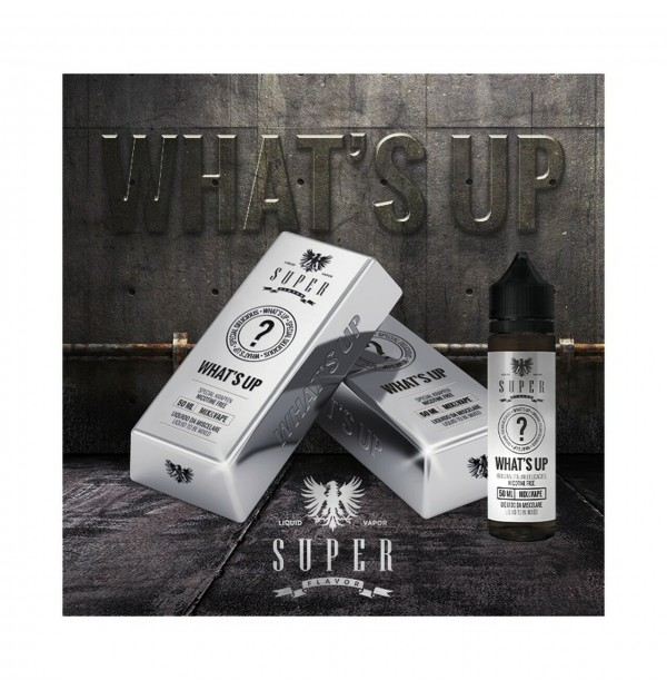 SUPER FLAVOR - Liquido Mix&Vape WHAT'S UP 50ml