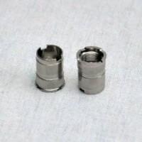 Attacco 510 forato placcato argento