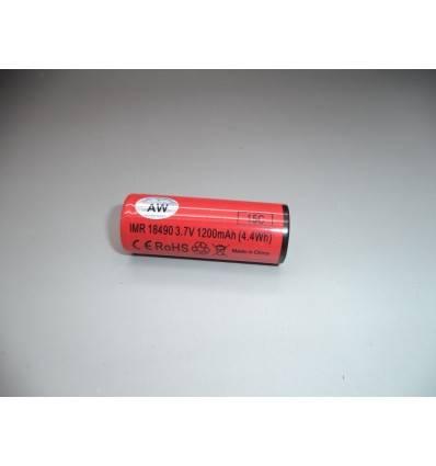 Nuova Batteria AW IMR 18490/18500 ***