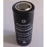Keeppower - 26650 - 4200mAh - 50A