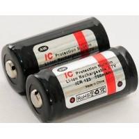 Batteria AW R123A 750mha