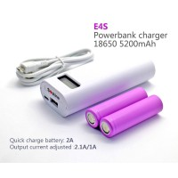 Soshine - E4S Power Bank 2x 18650 LCD