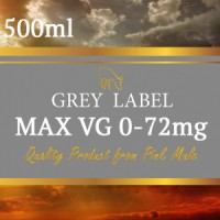 Grey Label Max VG Base 80% 500ml