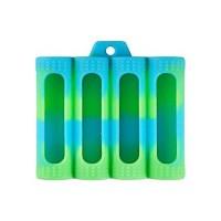 COIL MASTER - Custodia in Silicone per 4 batterie 18650